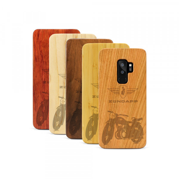 Galaxy S9+ Hülle Zündapp DB 200 aus Holz