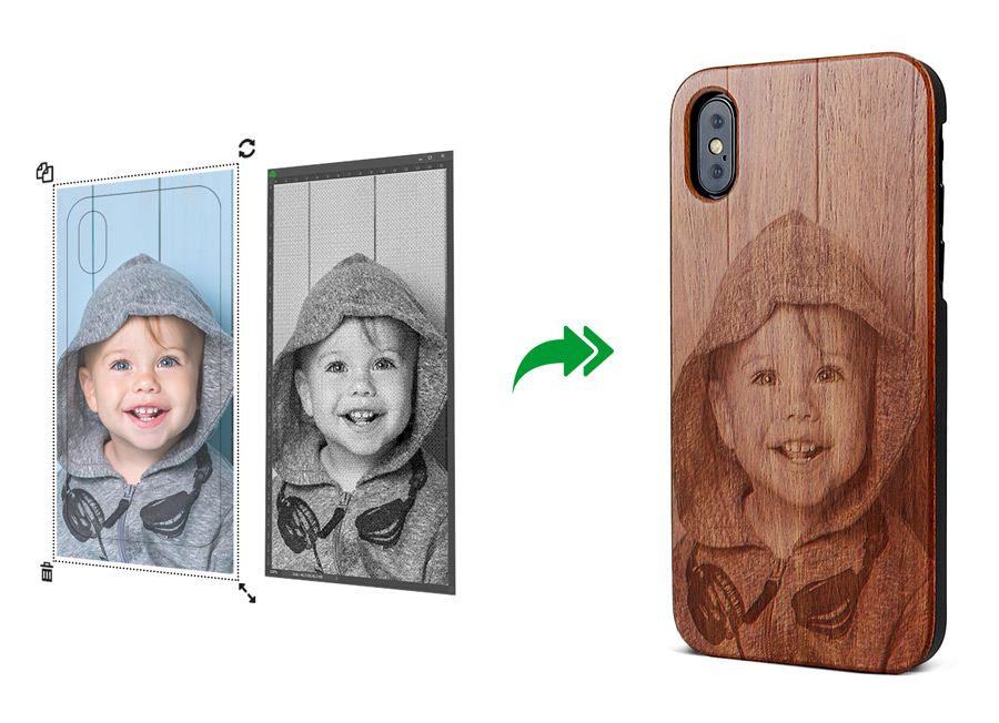 Gestalte deine Handyhülle mit eigenen Fotos direkt online