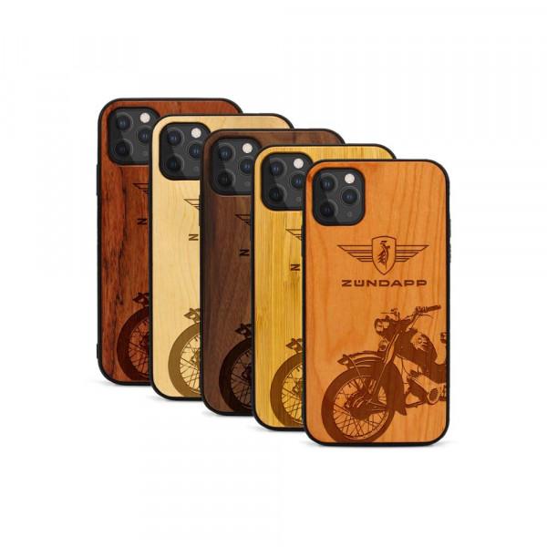 iPhone 11 Pro Hülle Zündapp C 50 Super aus Holz