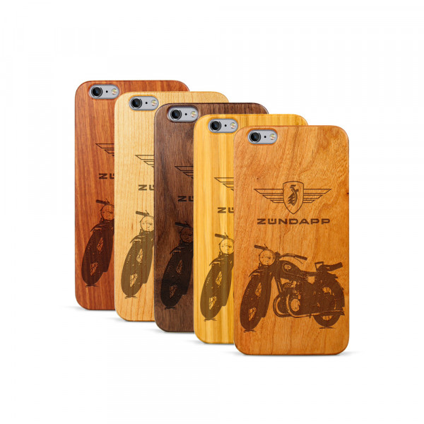 iPhone 6 & 6S Plus Hülle Zündapp DB 200 aus Holz