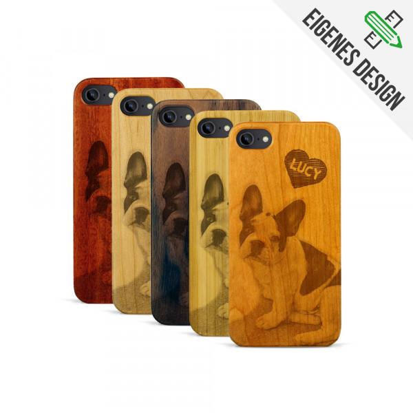 iPhone 7 Hülle aus Holz selber gestalten mit individueller Gravur
