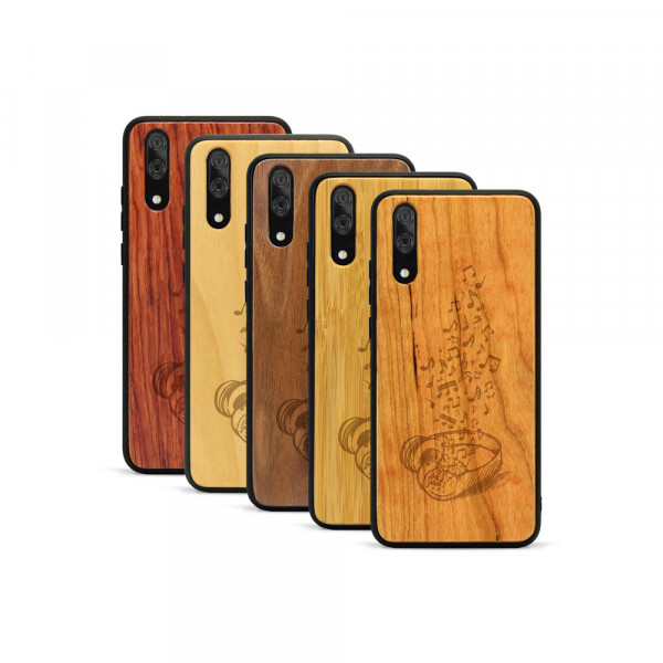 P20 Hülle Headphones aus Holz