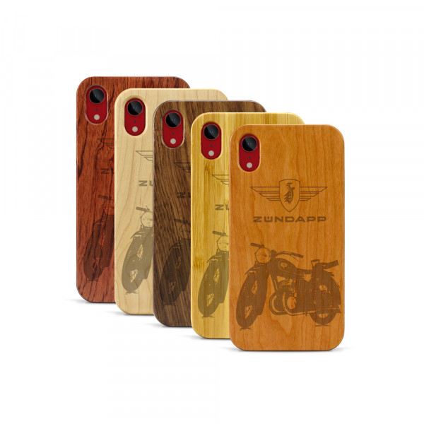 iPhone XR Hülle Zündapp DB 200 aus Holz