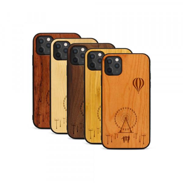 iPhone 11 Pro Max Hülle Jahrmarkt aus Holz