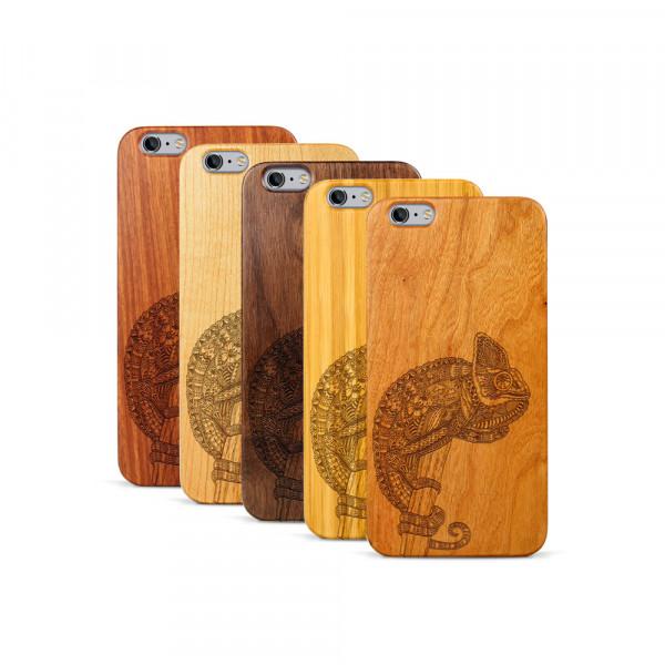 iPhone 6 & 6S Plus Hülle Chamäleon aus Holz