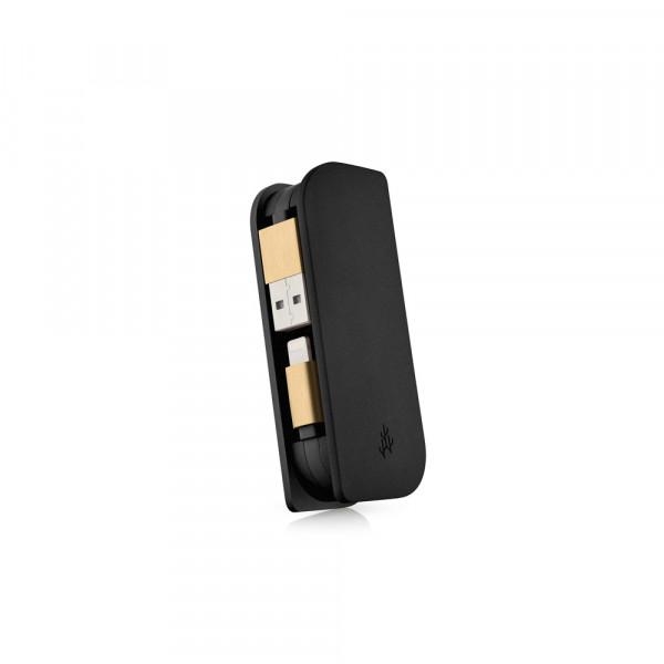 usbepower FUSION Mini Powerbank iPhone & iPad Lightning 3000mAh schwarz