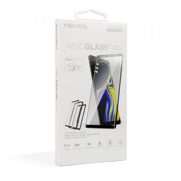 Nevox NEVOGLASS 3D Samsung Galaxy S20+ (Plus) Curved Glass mit Easy App