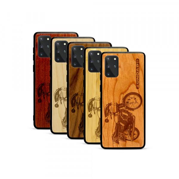 Galaxy S20+ Hülle Zündapp KS 80 aus Holz