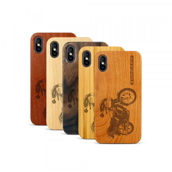 iPhone X & Xs Hülle Zündapp KS 80 aus Holz