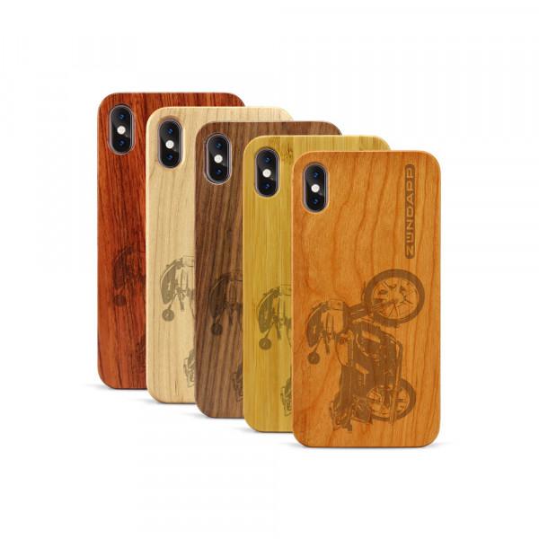 iPhone XS Max Hülle Zündapp KS 80 aus Holz