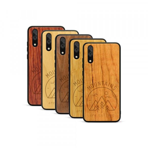 P20 Hülle Mountain Calling aus Holz