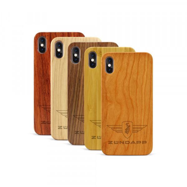 iPhone XS Max Hülle Zündapp Logo aus Holz