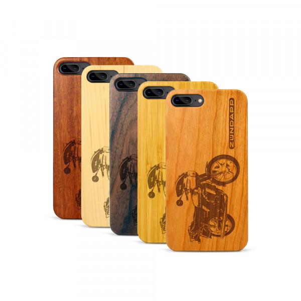 iPhone 7 & 8 Plus Hülle Zündapp KS 80 aus Holz