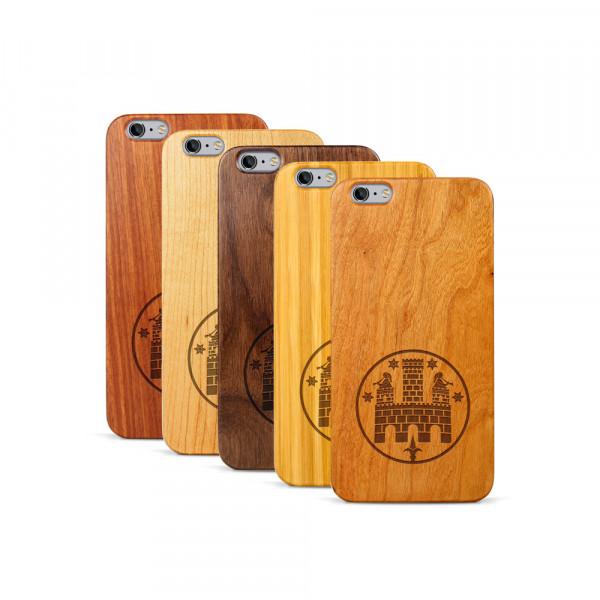 iPhone 6 & 6S Plus Hülle Freiburger Wasserschlössle aus Holz