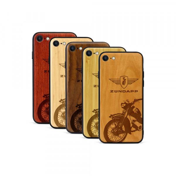 iPhone 8 & SE Hülle Zündapp C 50 Super aus Holz