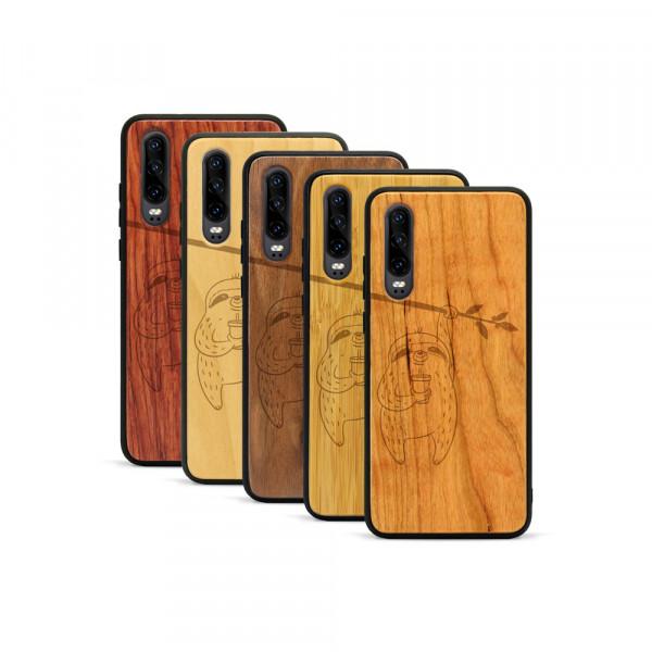 P30 Hülle Faultier aus Holz