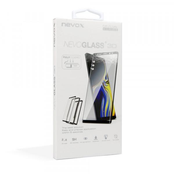 Nevox NEVOGLASS 3D Samsung Galaxy S9 Curved Glass mit Easy App