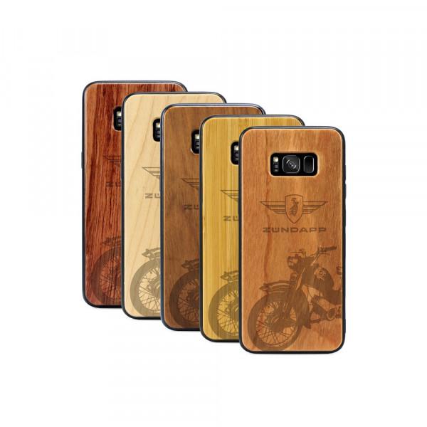 Galaxy S8+ Hülle Zündapp C 50 Super aus Holz