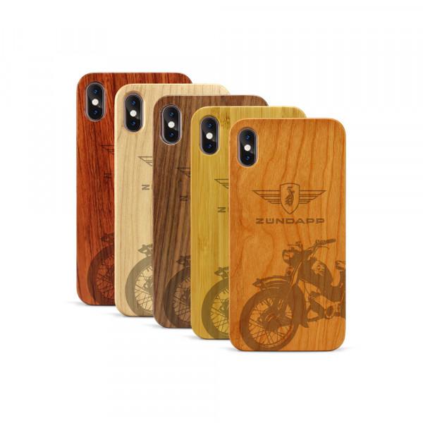 iPhone XS Max Hülle Zündapp C 50 Super aus Holz