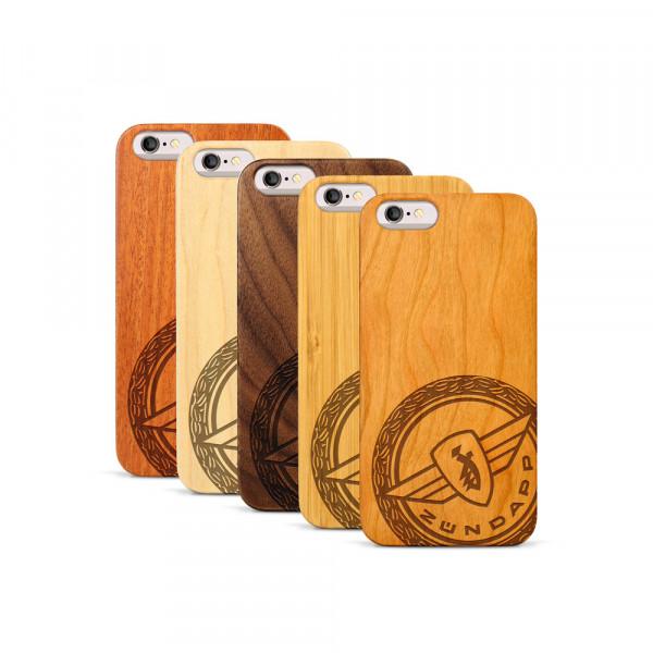 iPhone 6 & 6S Hülle Zündapp Logo Klassik aus Holz