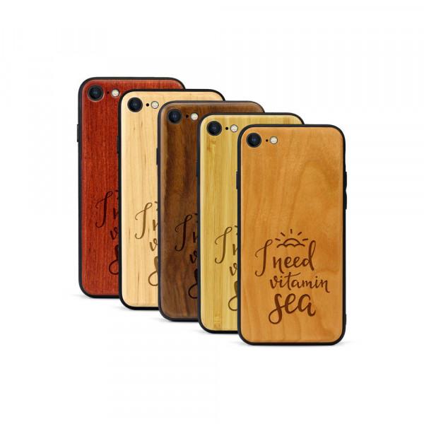 iPhone 8 & SE Hülle Vitamin C aus Holz