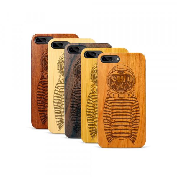 iPhone 7 & 8 Plus Hülle Defy Gravity aus Holz