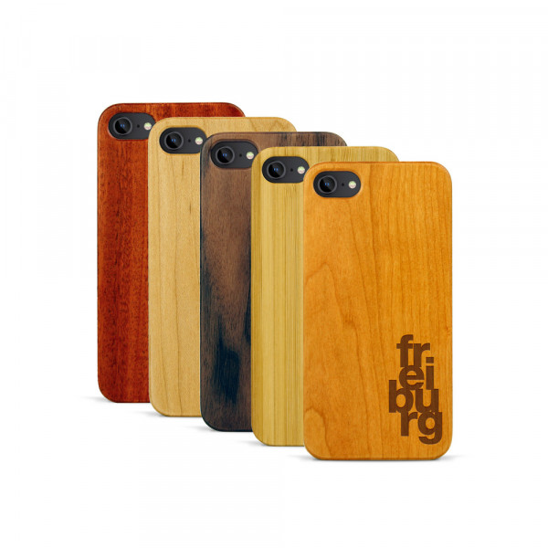 iPhone 7 Hülle fr ei bu rg aus Holz