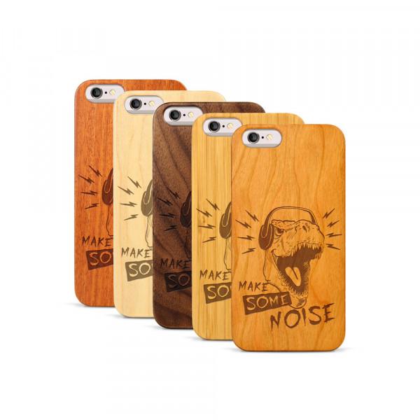 iPhone 6 & 6S Hülle T-Rex aus Holz