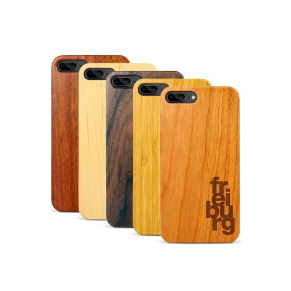 iPhone 7 & 8 Plus Hülle fr ei bu rg aus Holz