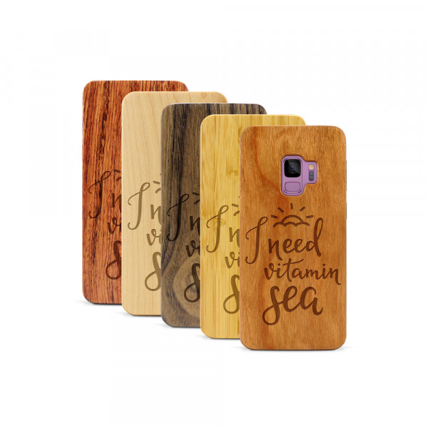 Galaxy S9 Hülle Vitamin C aus Holz