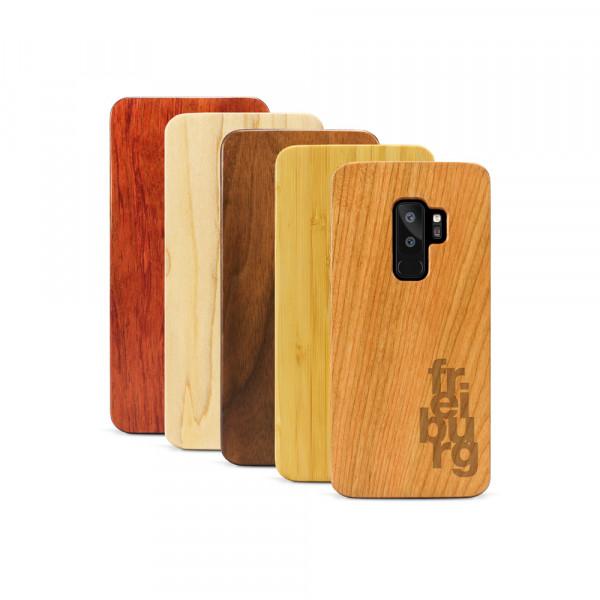 Galaxy S9+ Hülle fr ei bu rg aus Holz