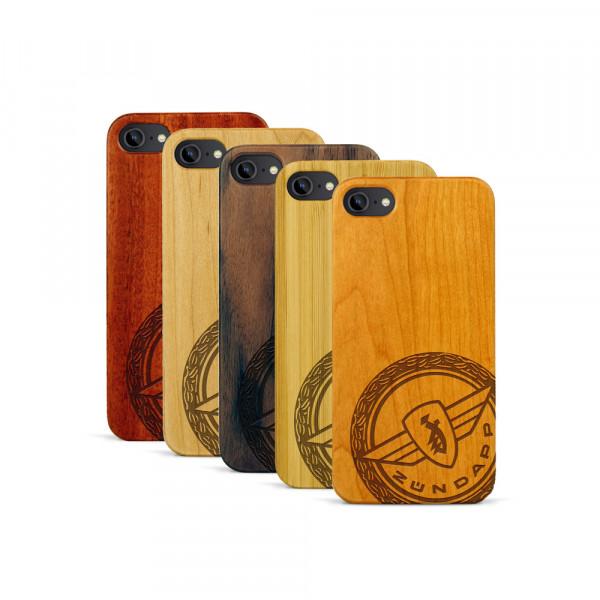 iPhone 7 Hülle Zündapp Logo Klassik aus Holz