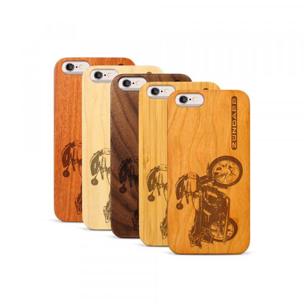 iPhone 6 & 6S Hülle Zündapp KS 80 aus Holz