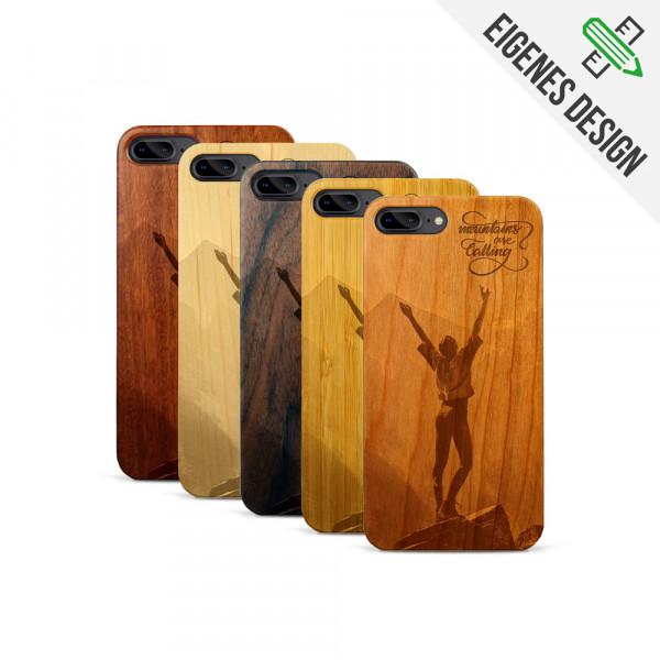 iPhone 7 & 8 Plus Hülle aus Holz selber gestalten mit individueller Gravur