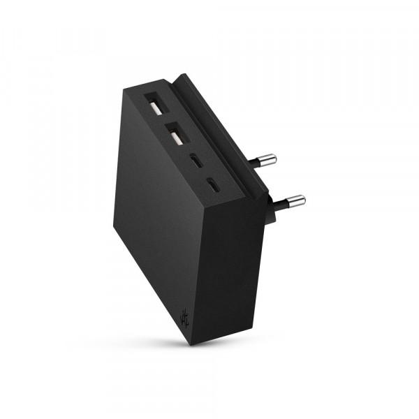 usbepower HIDE Mini+ 27W 4-in-1 Netzteil USB & USB-C