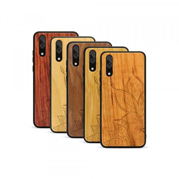 P20 Hülle Mandala aus Holz