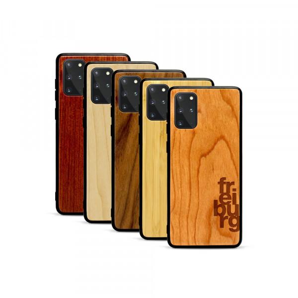 Galaxy S20+ Hülle fr ei bu rg aus Holz