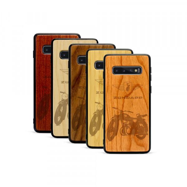 Galaxy S10+ Hülle Zündapp DB 200 aus Holz