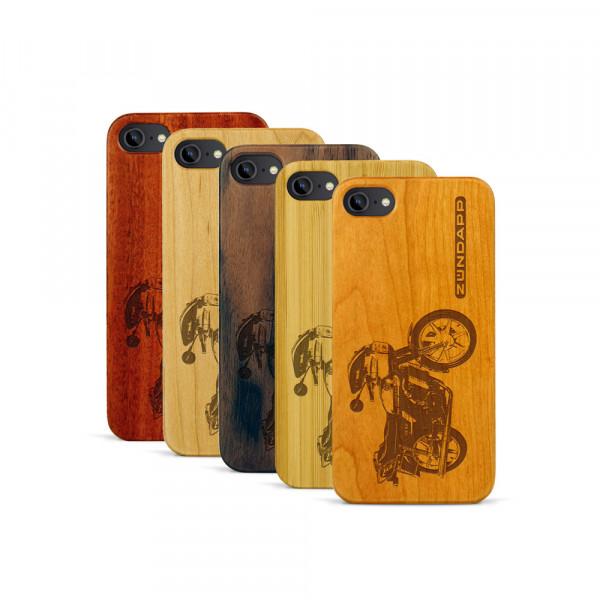 iPhone 7 Hülle Zündapp KS 80 aus Holz
