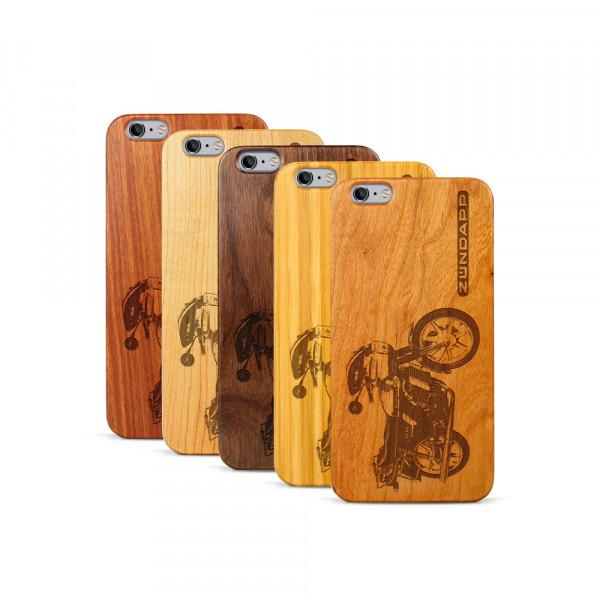 iPhone 6 & 6S Plus Hülle Zündapp KS 80 aus Holz
