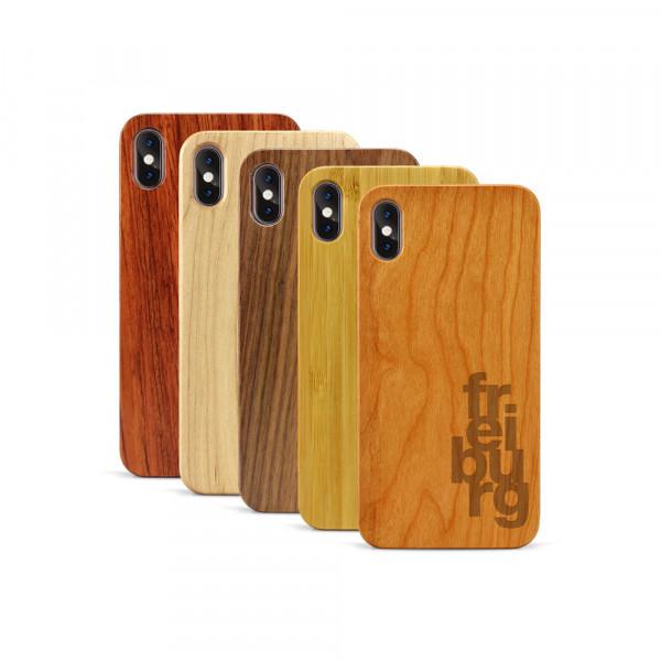iPhone XS Max Hülle fr ei bu rg aus Holz