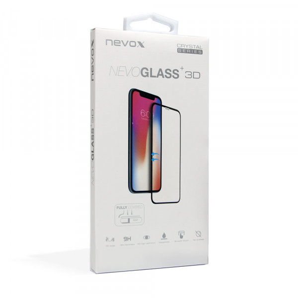 "Nevox NEVOGLASS 3D iPhone 11 & XR 6.1"" Curved Glass mit Easy App"