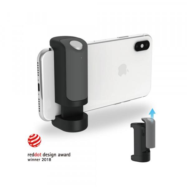 Just Mobile ShutterGrip Fernauslöser Bluetooth Smartphone Kamera Griff