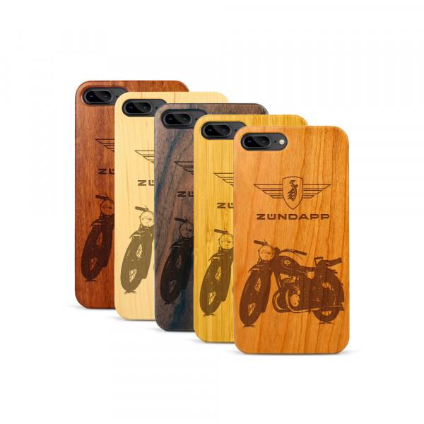 iPhone 7 & 8 Plus Hülle Zündapp DB 200 aus Holz