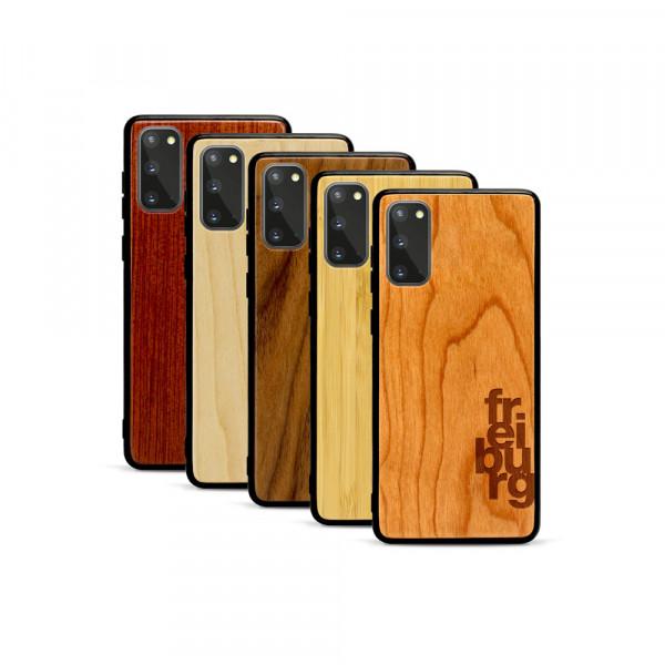 Galaxy S20 Hülle fr ei bu rg aus Holz