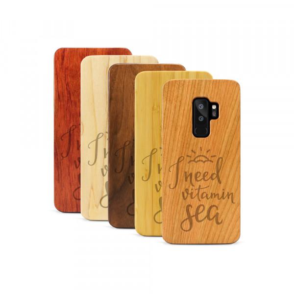 Galaxy S9+ Hülle Vitamin C aus Holz
