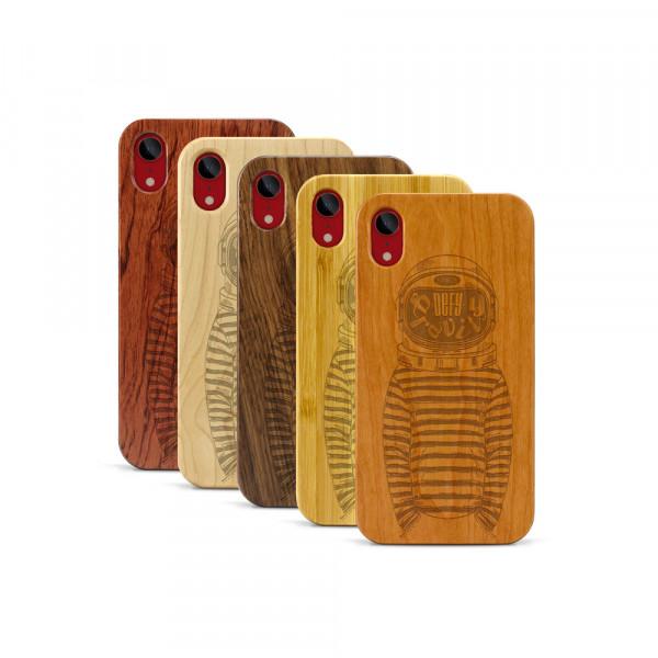 iPhone XR Hülle Defy Gravity aus Holz