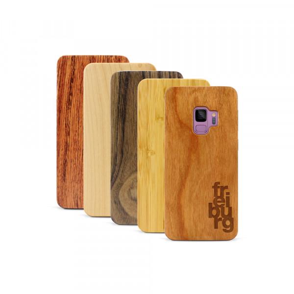 Galaxy S9 Hülle fr ei bu rg aus Holz