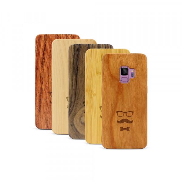 Galaxy S9 Hülle Minimalist aus Holz