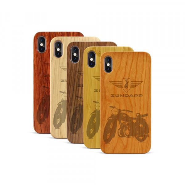 iPhone XS Max Hülle Zündapp DB 200 aus Holz